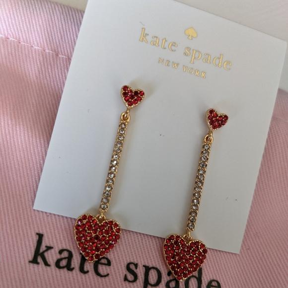 *NWT* Kate Spade ❤️ Heart earrings